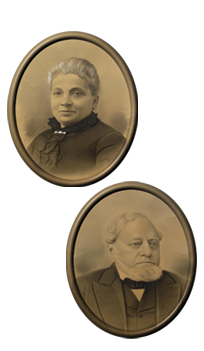 Rebecca and Solomon JessurunOur Great Grandparents
